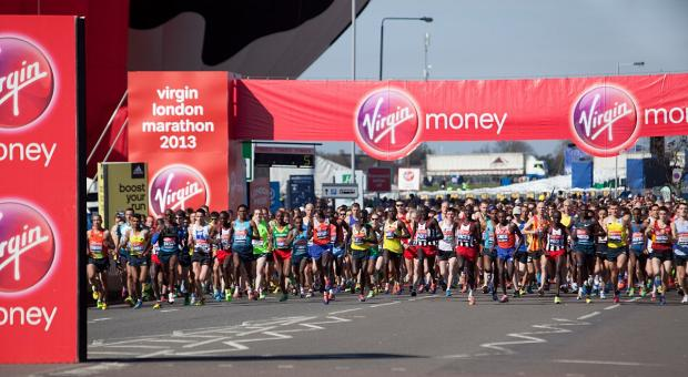 Last year's London Marathon