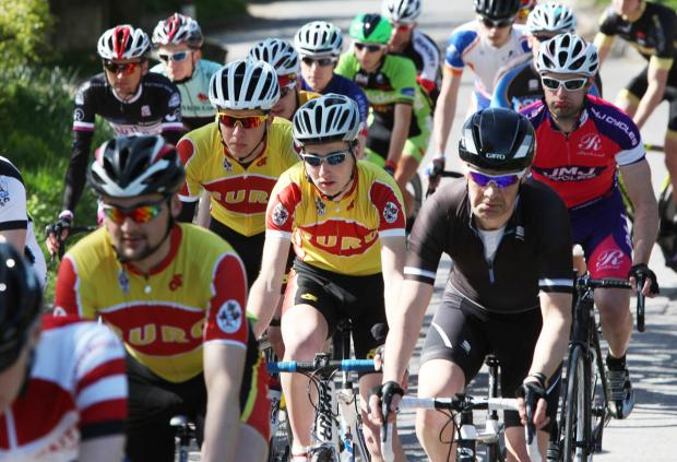 Cyclists race in memory of friend