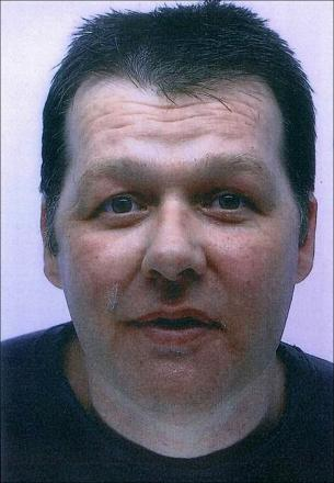 Warning not to approach missing man