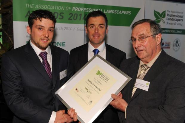 Daily Echo: Prize for young landscaper