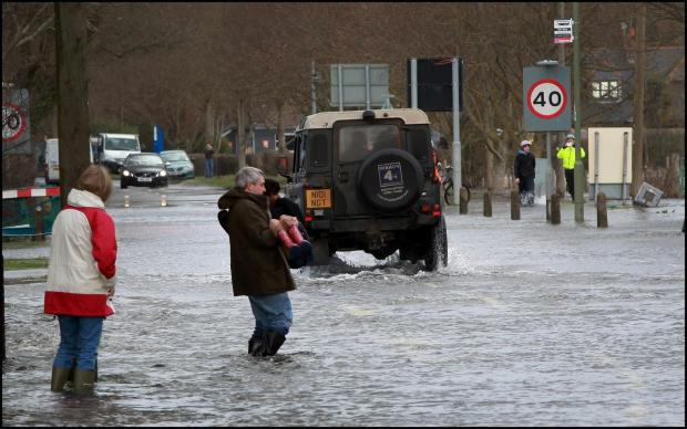 MP slams ministers for not hitting flood hit town