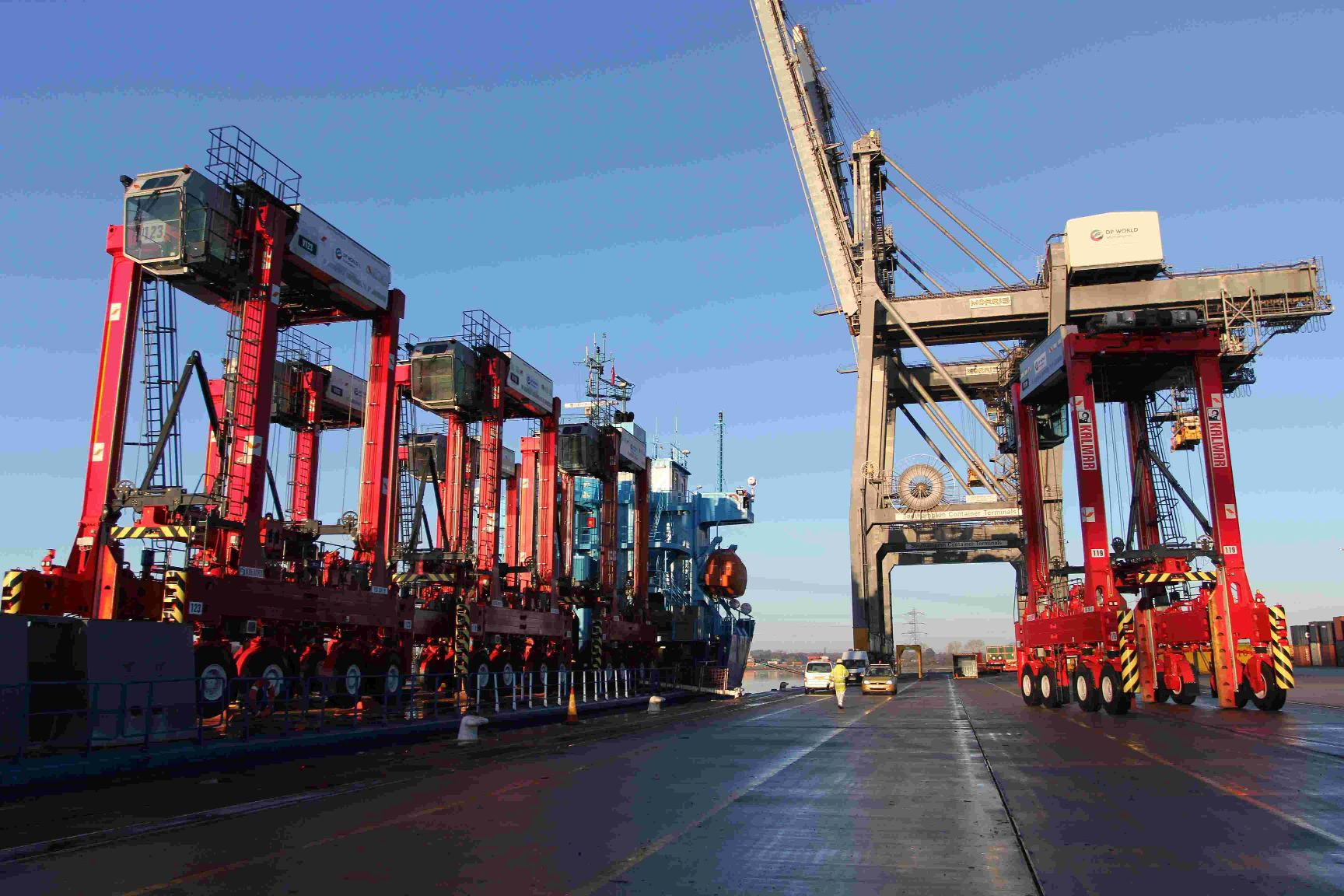 Six new container carriers boost dock capacity