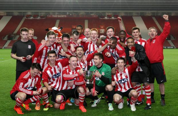 Sholing Reserves win the Southampton Senior Cup