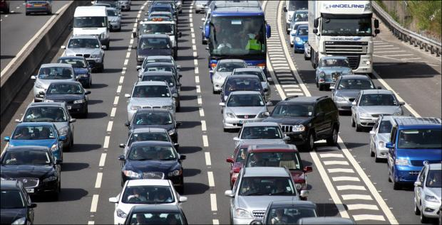 Four-car crash causes major motorway delays