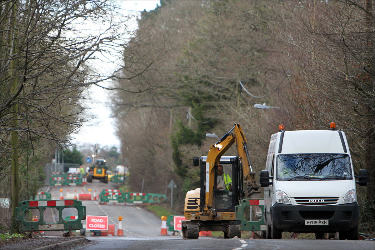 Seven months of roadworks finally end