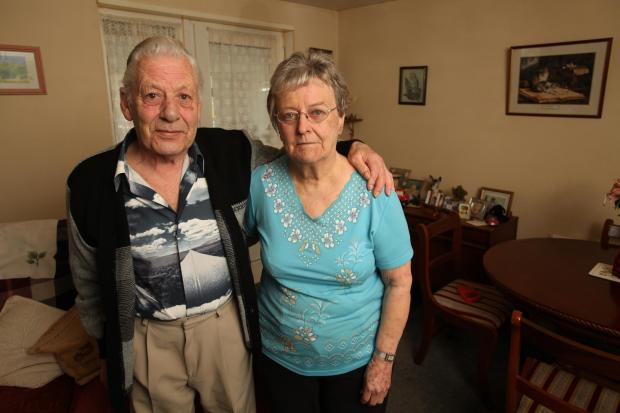 Daily Echo: Jim and Valerie Gorman could lose out on vital time at a Southampton day centre due to price increases