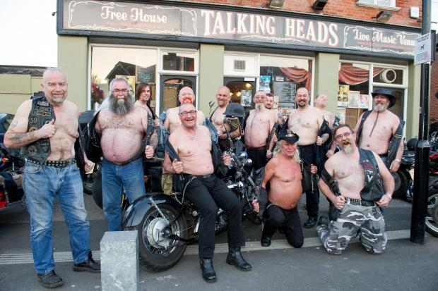 Daily Echo: Bikers dare to bare all tonight