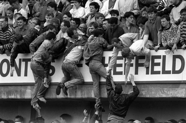 The Hillsborough disaster, April 15, 1989.