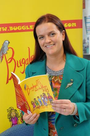 Children's author Charlotte Bennett is launching her first book