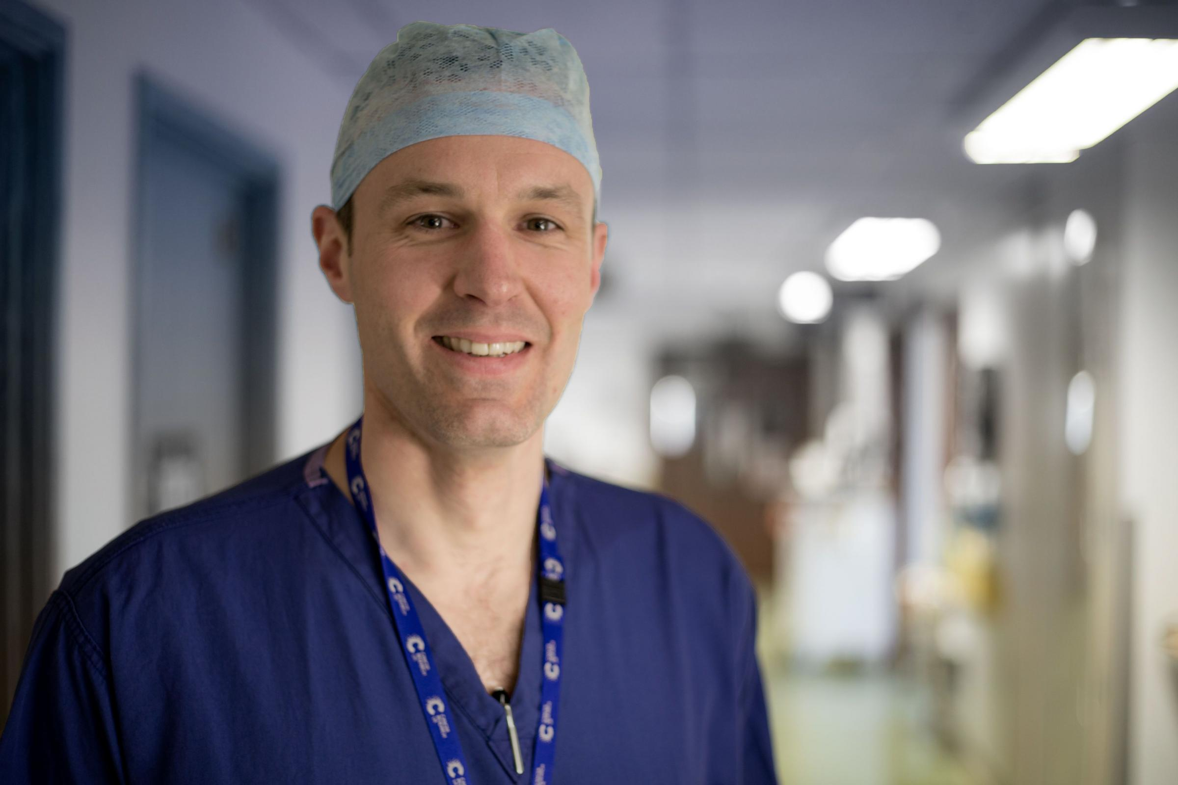 Tim Underwood, MRC clinician scientist at the University of Southampton and Oesophageal Surgeon at Southampton General Hospital