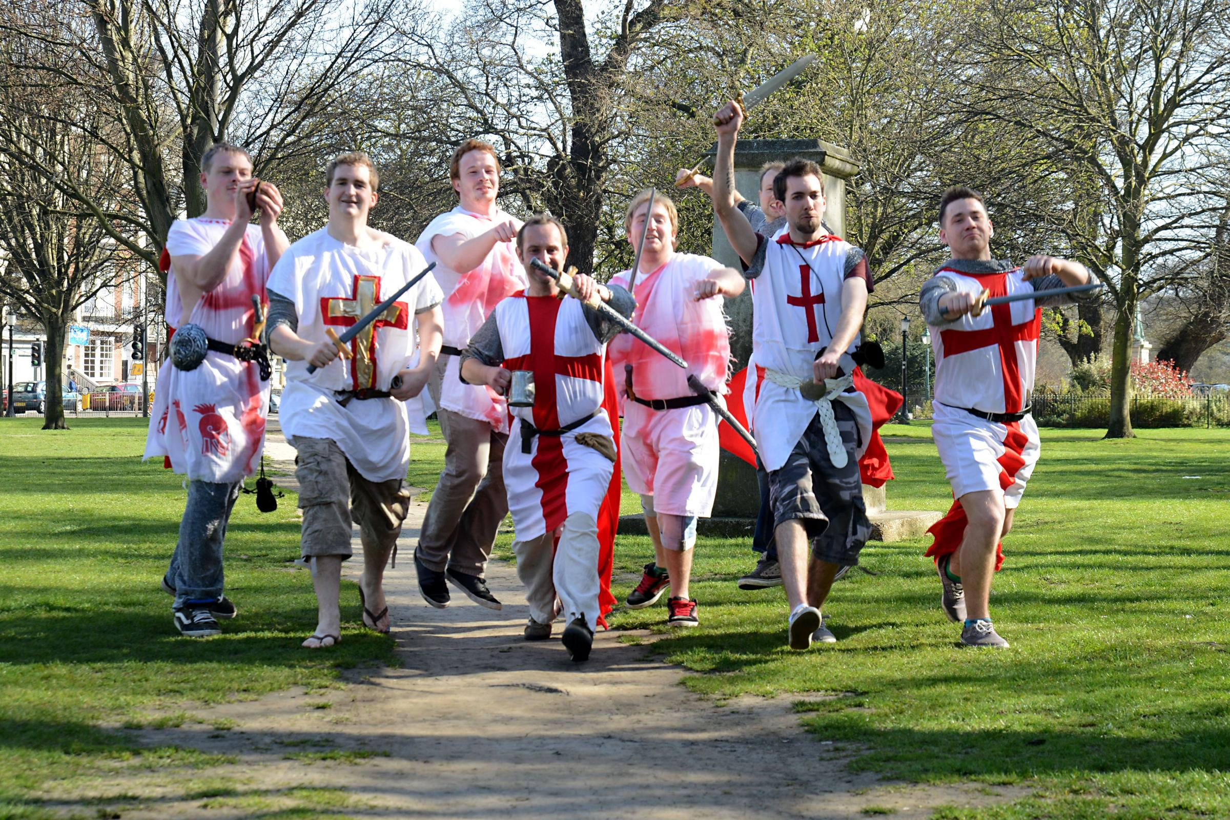 St George's Day in Southampton