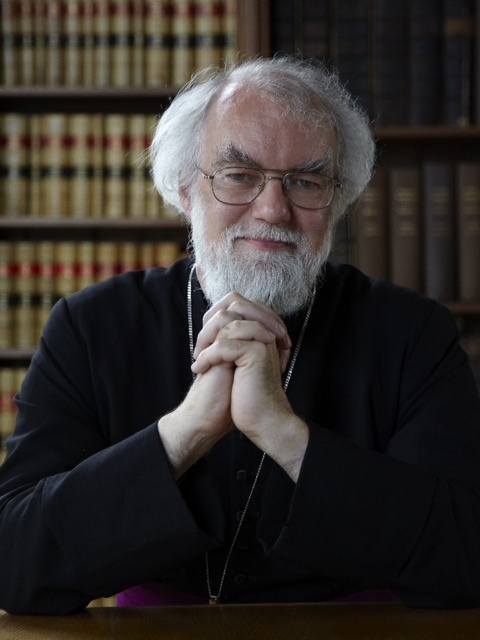 Former Archbishop of Canterbury Dr Rowan Williams