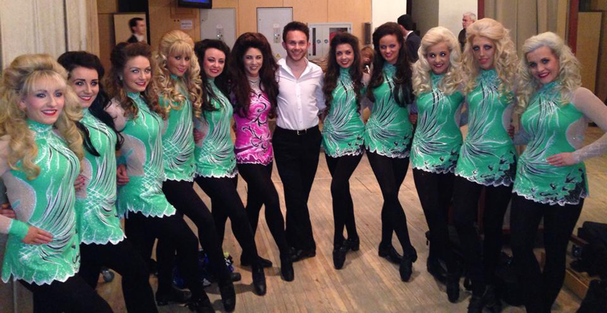 Irish dancer is Hampshire's very own Lord of the Dance