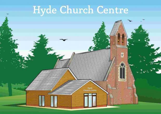 An artists impression of the scheme