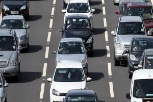 UPDATE: Traffic light fault causing long delays on motorway