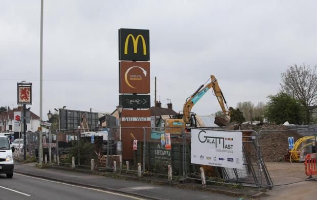 Daily Echo: Work at the McDonald's restaurant in Totton