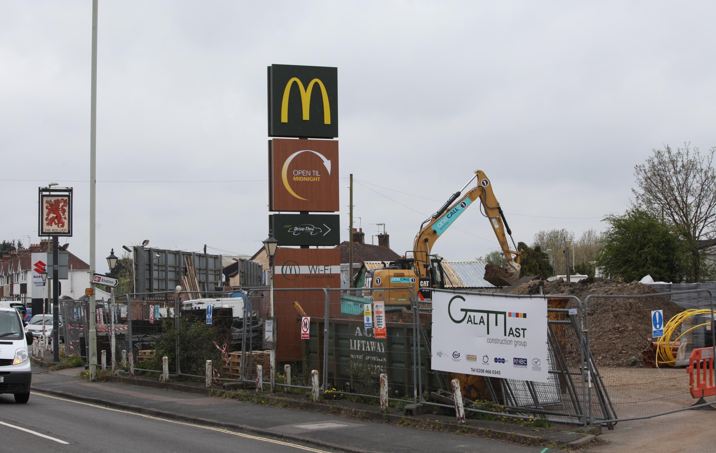 Work at the McDonald's restaurant in Totton