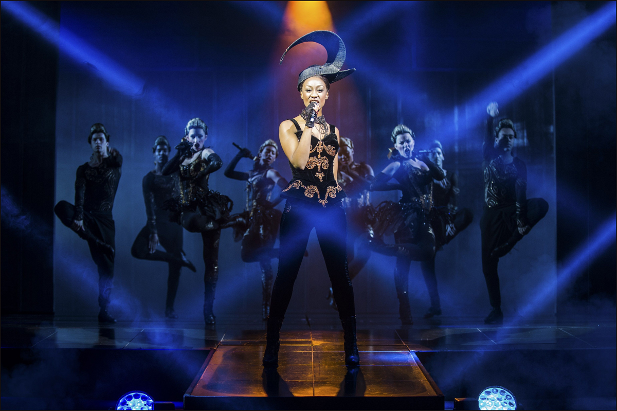 A scene from the West End production of The Bodyguard. Picture by Paul Coltas