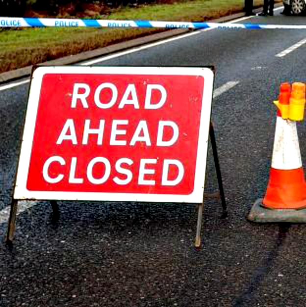 Roadworks cause severe traffic delays