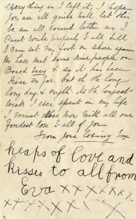 Last letter written on Titanic sells for world record