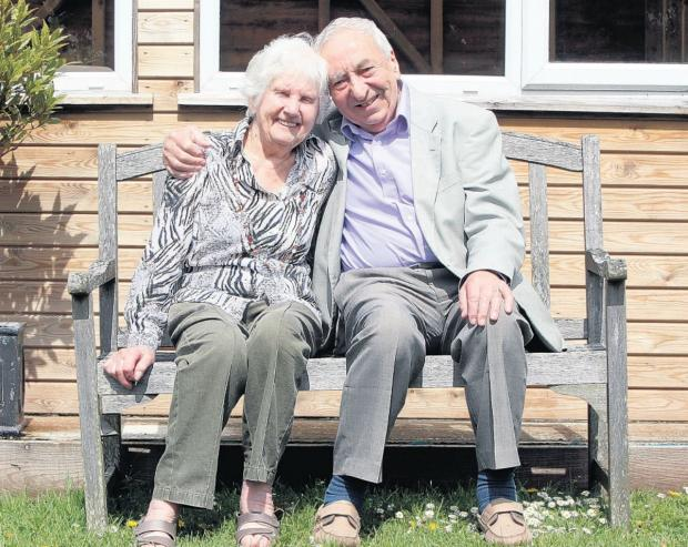 Jimmy and Joan White celebrate 70 years of marriage