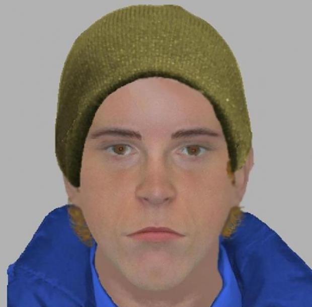 E-fit of one of the suspects.