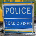 Daily Echo: Police Road Closed Sign