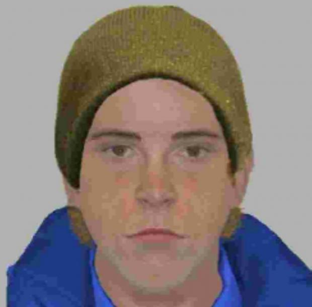 The e-fit of one of the Portswood armed raiders.