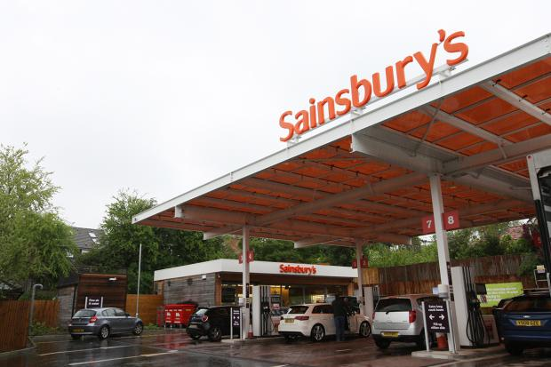 Daily Echo: Sainsbury Petrol Station at Bishop's Waltham