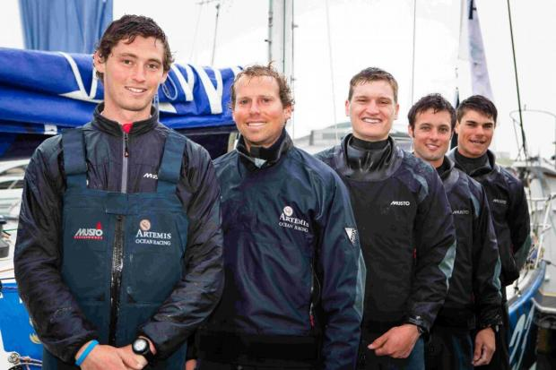 Sailing quintet head for France