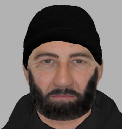 Police release e-fit picture after Hampshire attack