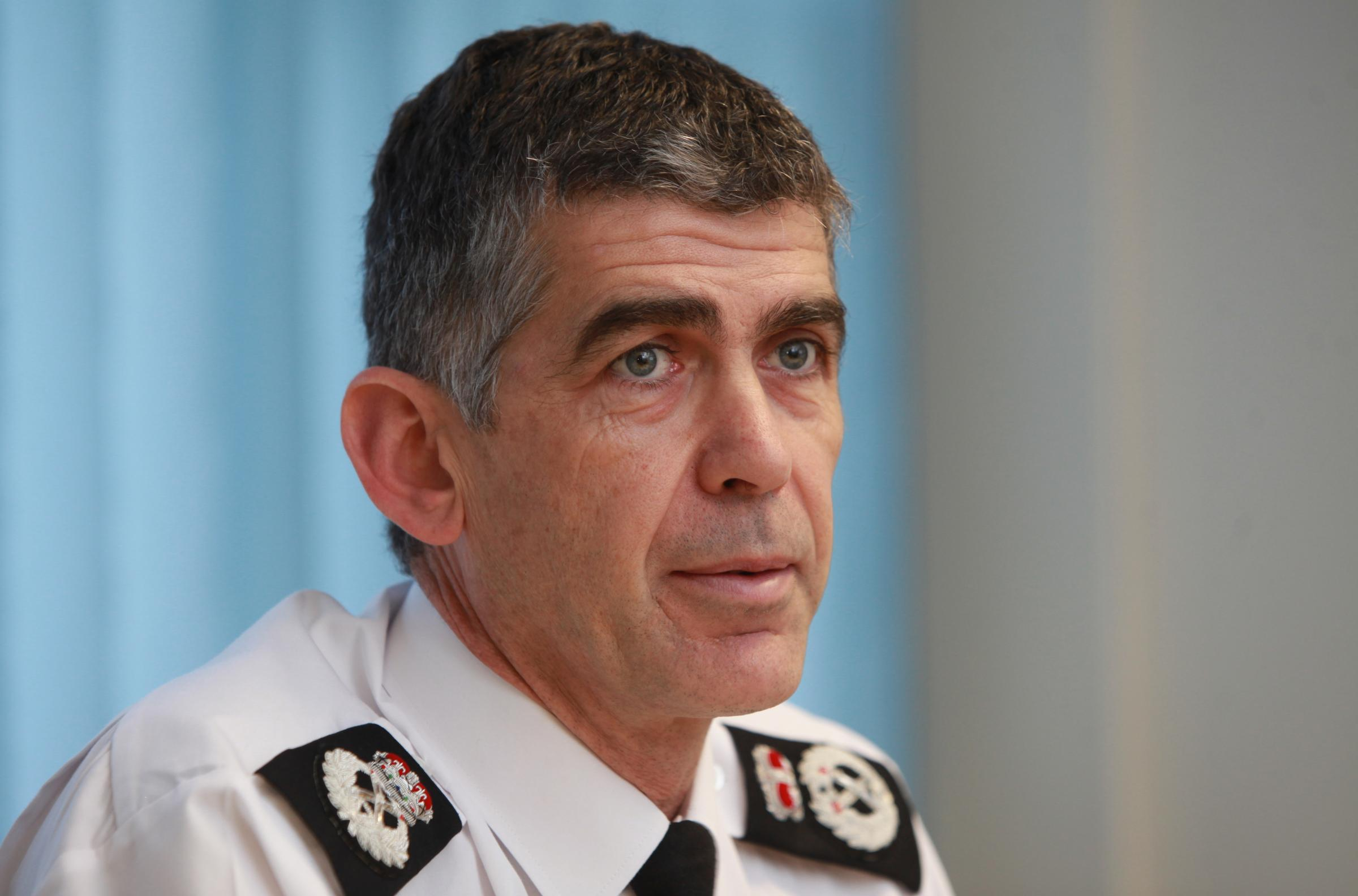 Hampshire Police Chief Constable Andy Marsh