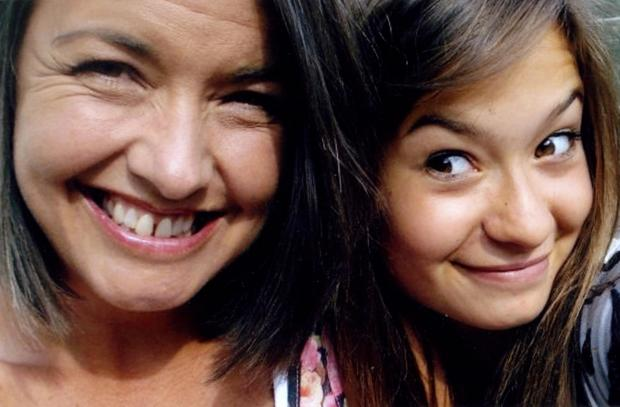 Yvonne Walters, left, and her late daughter, Esther