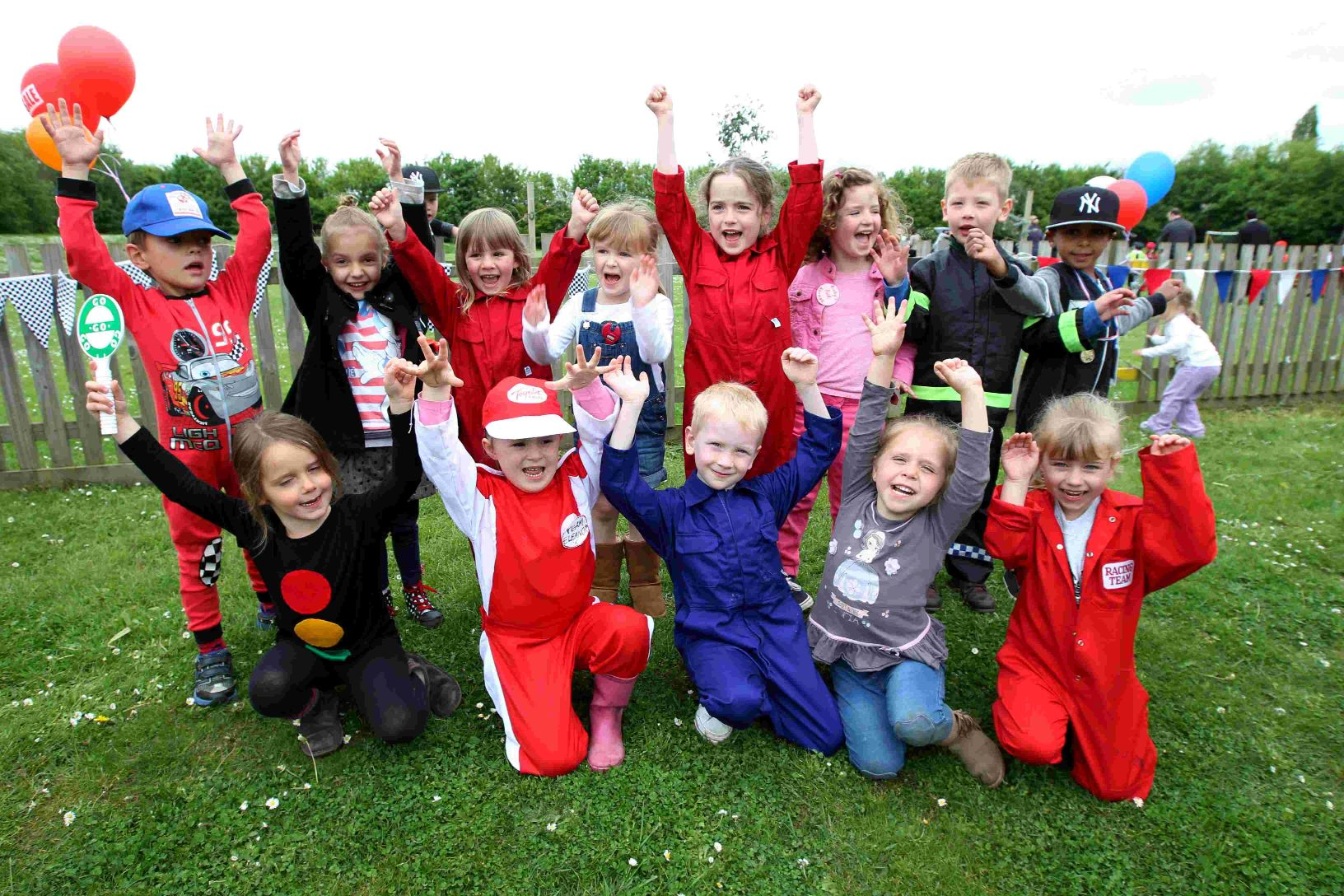 Pupils all revved up for school's car show