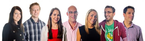 Daily Echo: The 'magnificent seven' who have joined award-winning Ocean Village digital marketing company Adido.