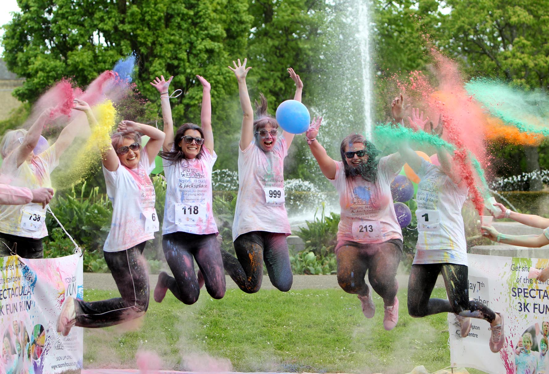 City awash with colour as Rainbow Run is launched