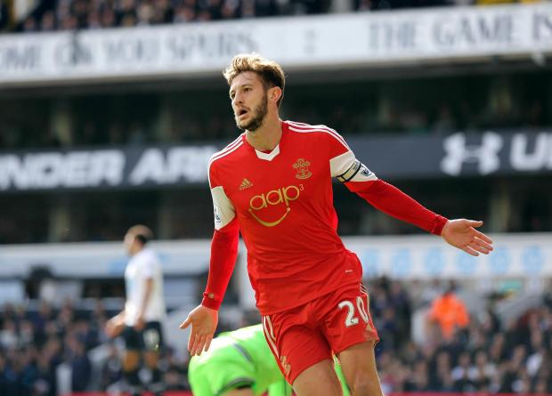 Daily Echo: Saints put Liverpool's Lallana ultimatum to the test