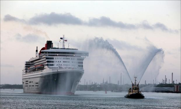 Major traffic chaos as three Queens arrive in city