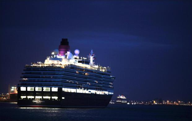 Proud day for the city as teh Three Queens arrive