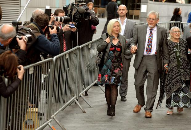 Rolf Harris found guilty of indecent assault