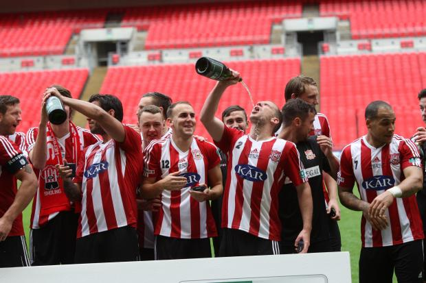 Sholing Win the FA Vase - Pictures
