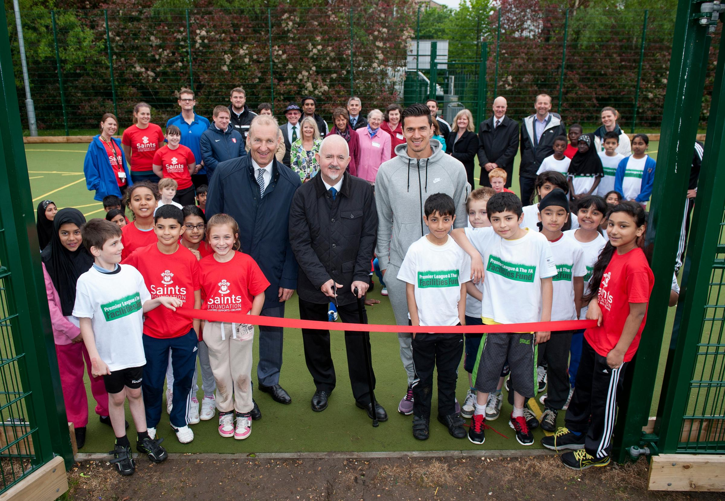 Saints star Jose Fonte launches new sport hub