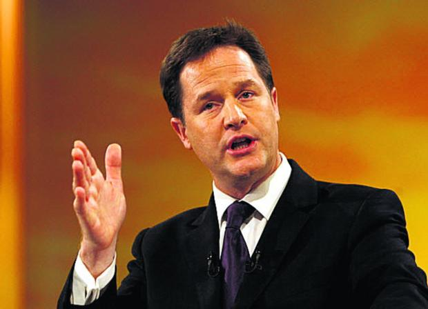 Daily Echo: Nick Clegg