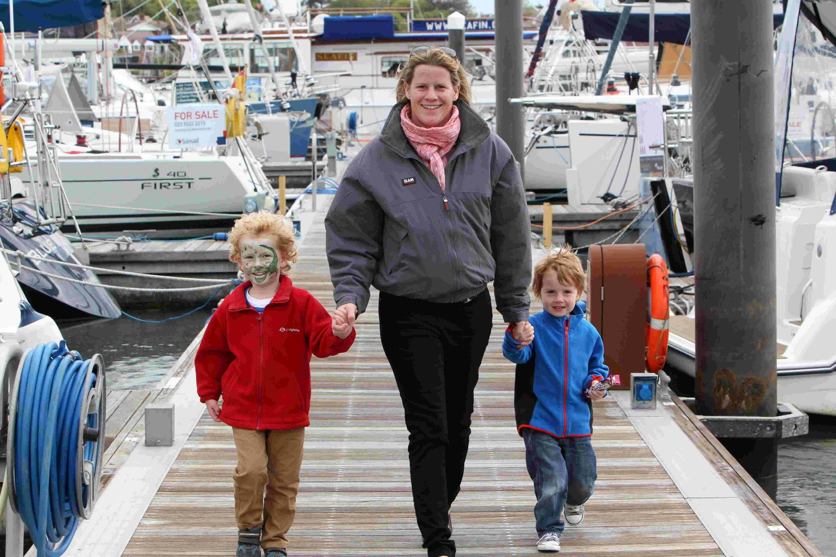1,400 visitors flock to Hamble Point Marina show
