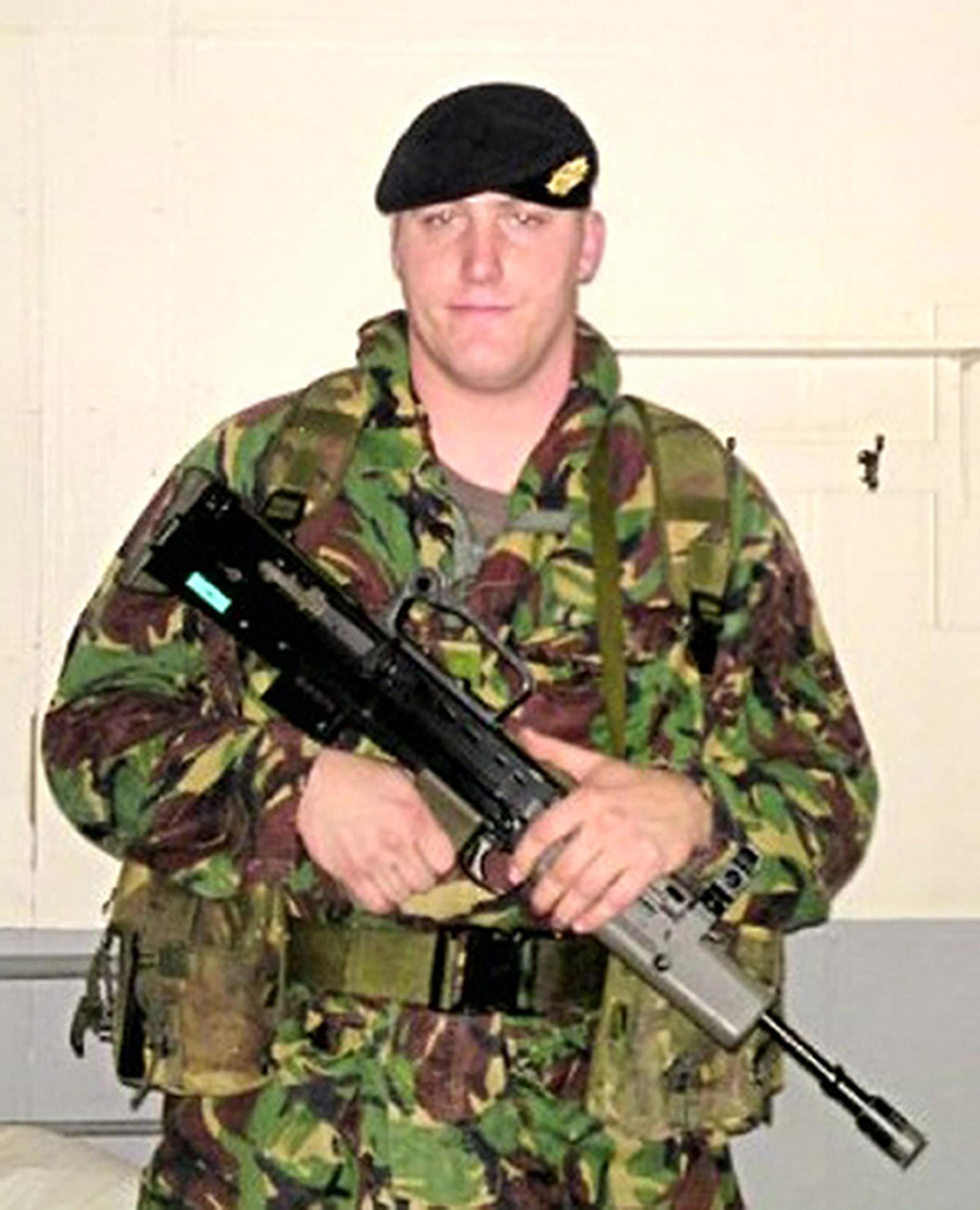 Private Rob Wood