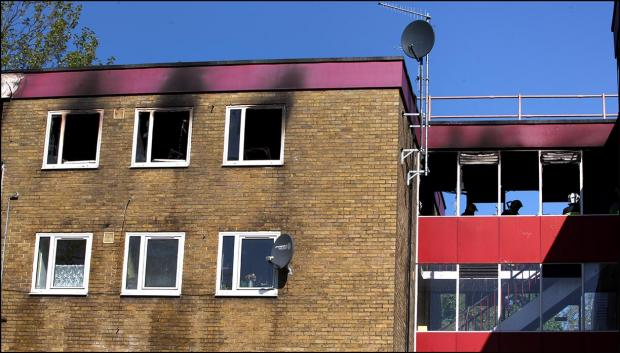 Dramatic rescue from Southampton flats fire