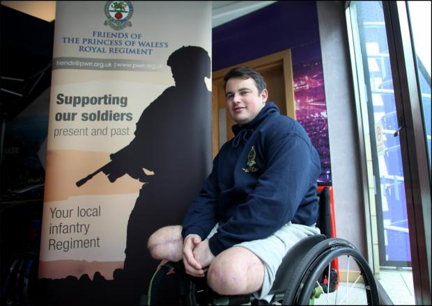 Sgt Jay Baldwin is one of hundreds of soldiers to suffer life-changing injuries after fighting in Iraq and Afghanistan