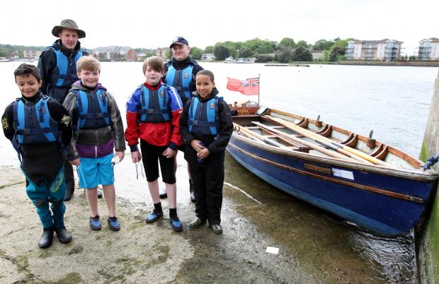 Daily Echo: Sea Scouts' sponsored row is scuppered by strong winds
