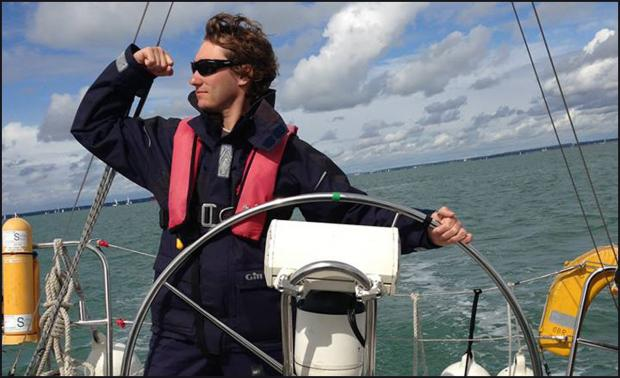 Daily Echo: Missing Southampton sailor James Male.