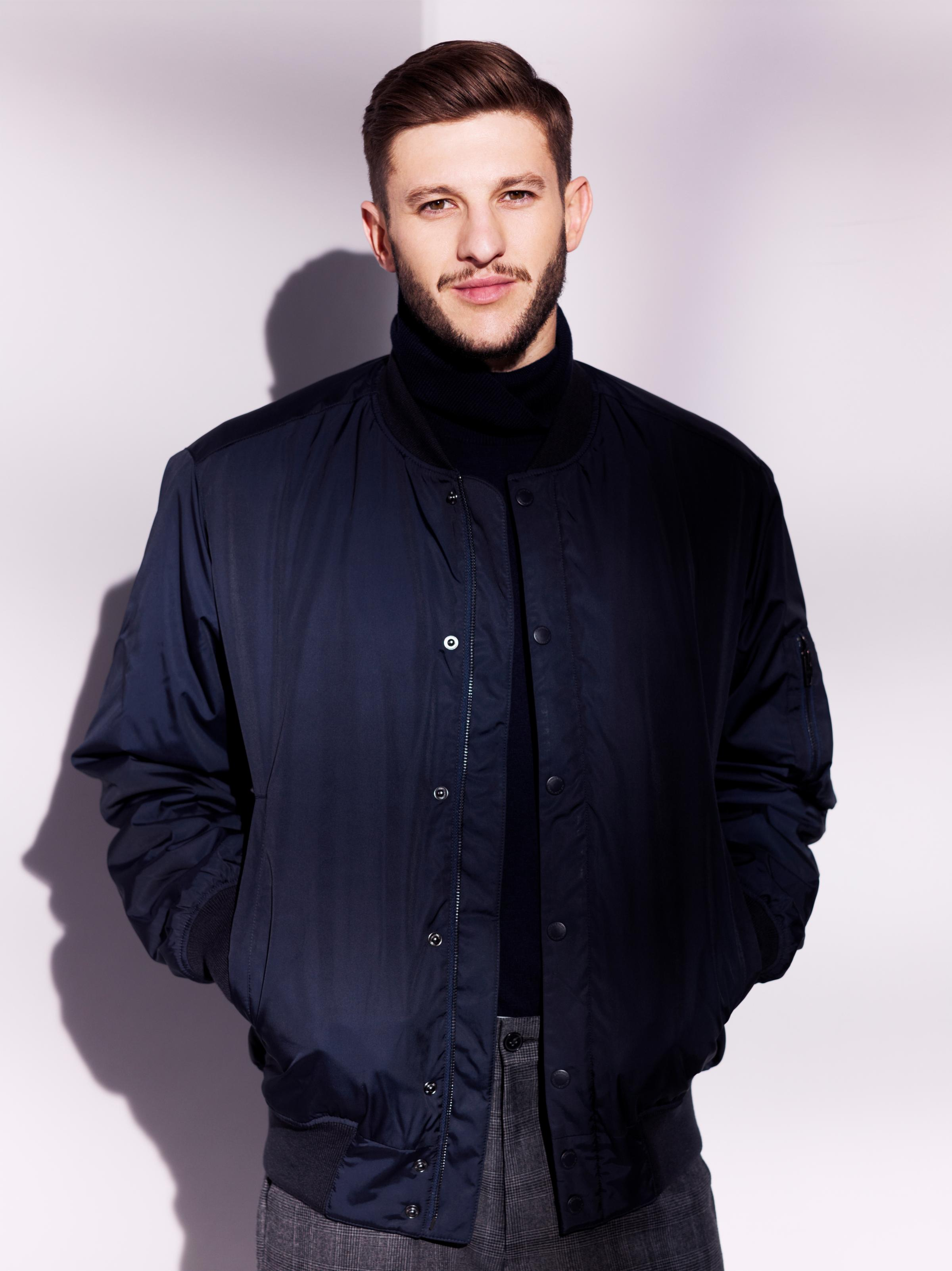 Adam Lallana is the new face of French Connection for its pre-autumn collection
